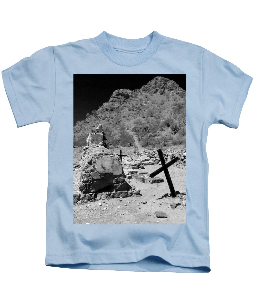 Grave Kids T-Shirt featuring the photograph Stairway To Heaven by Anne Mott