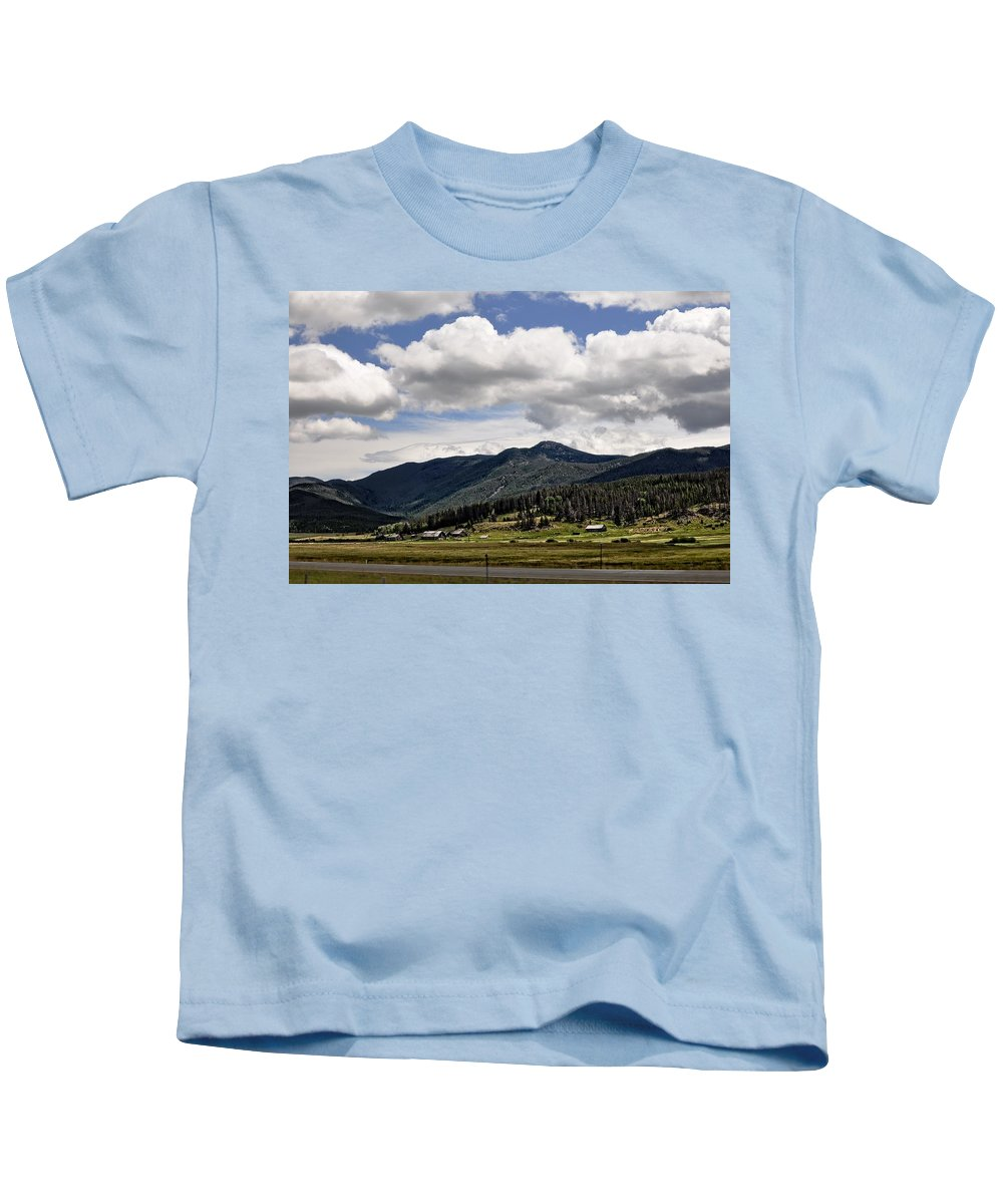Barn Kids T-Shirt featuring the photograph The Valley by Image Takers Photography LLC