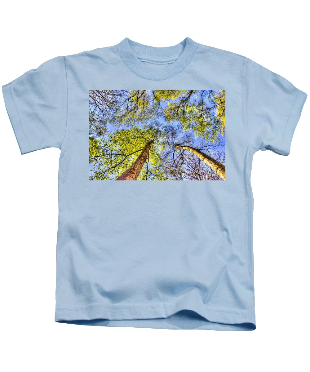 Forest Kids T-Shirt featuring the photograph The Wild Forest by David Pyatt