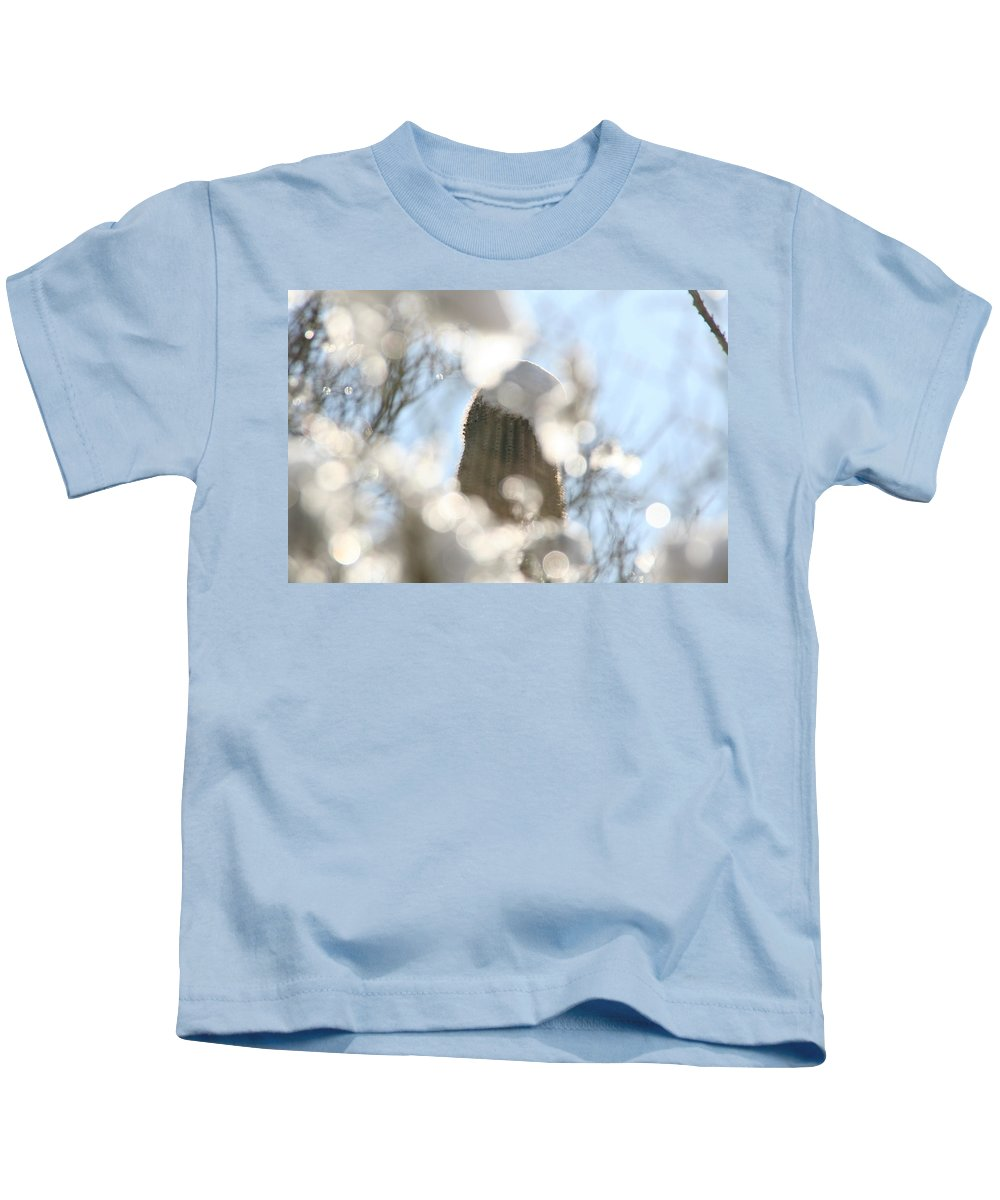 Southwest Kids T-Shirt featuring the photograph Through The Ice by David S Reynolds