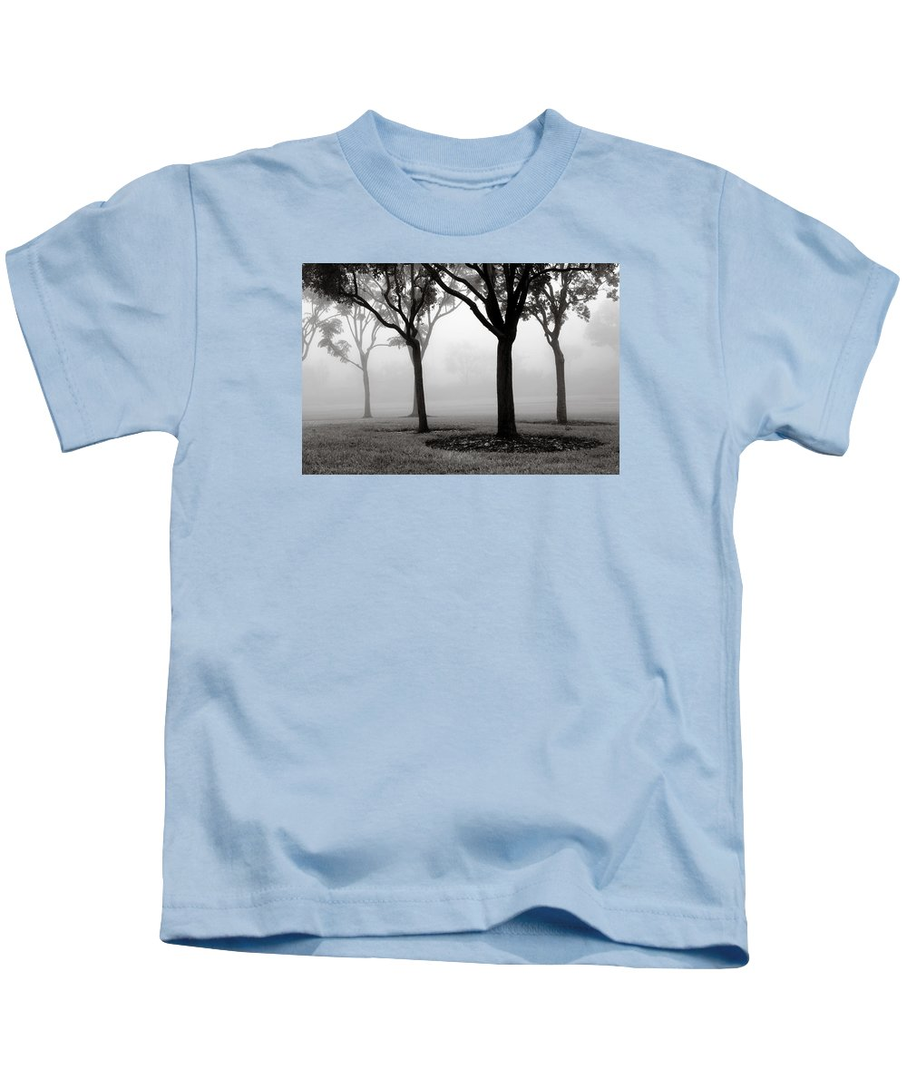 Trees Kids T-Shirt featuring the photograph Trees In The Midst No. 06 by Pictorial Decor