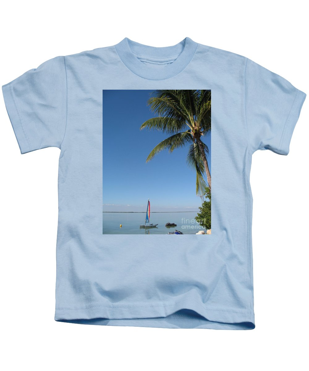 Tropical Feeling Kids T-Shirt featuring the photograph Tropical Feeling by Christiane Schulze Art And Photography