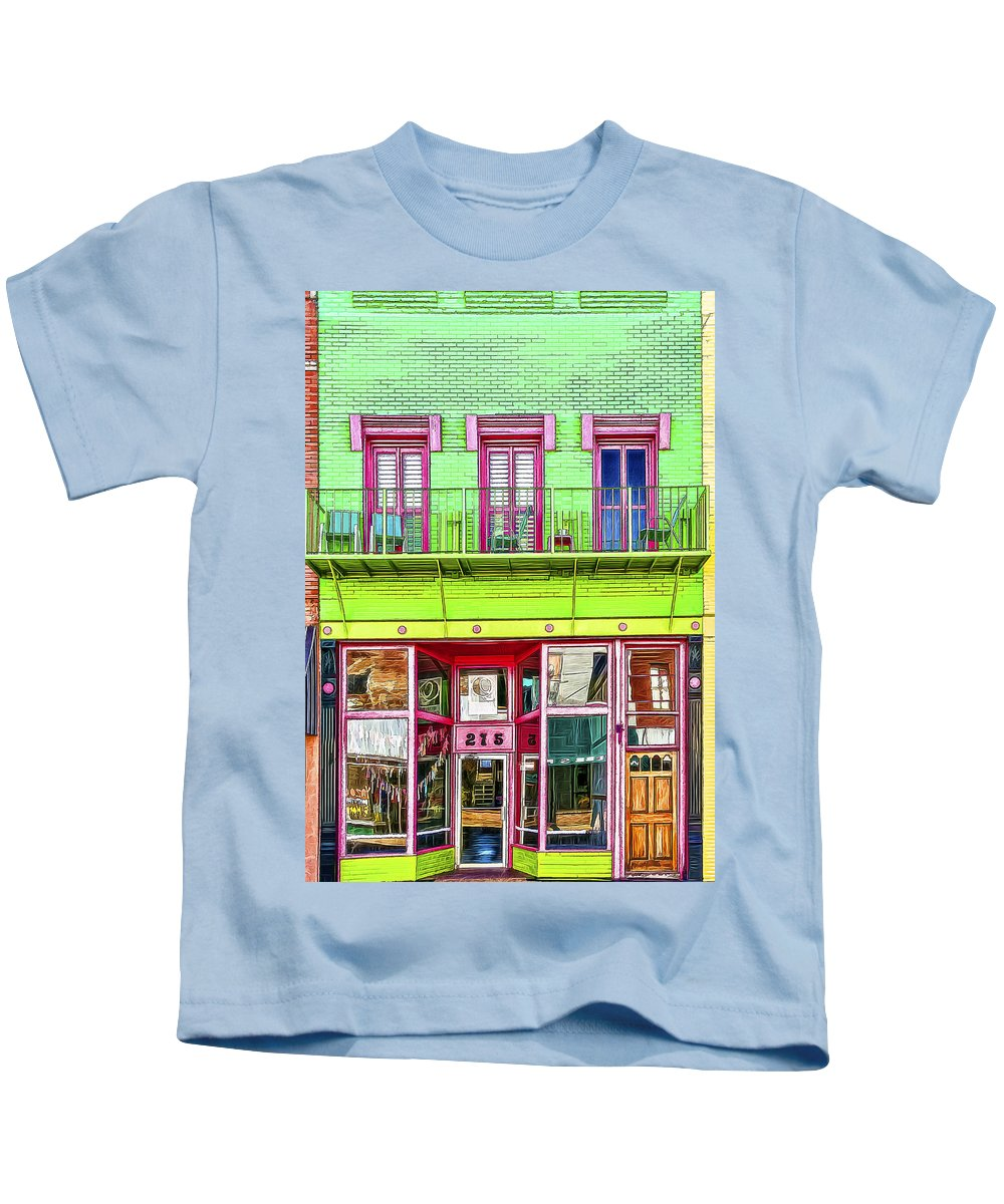 Art Kids T-Shirt featuring the photograph Two Seven Five by Maria Coulson