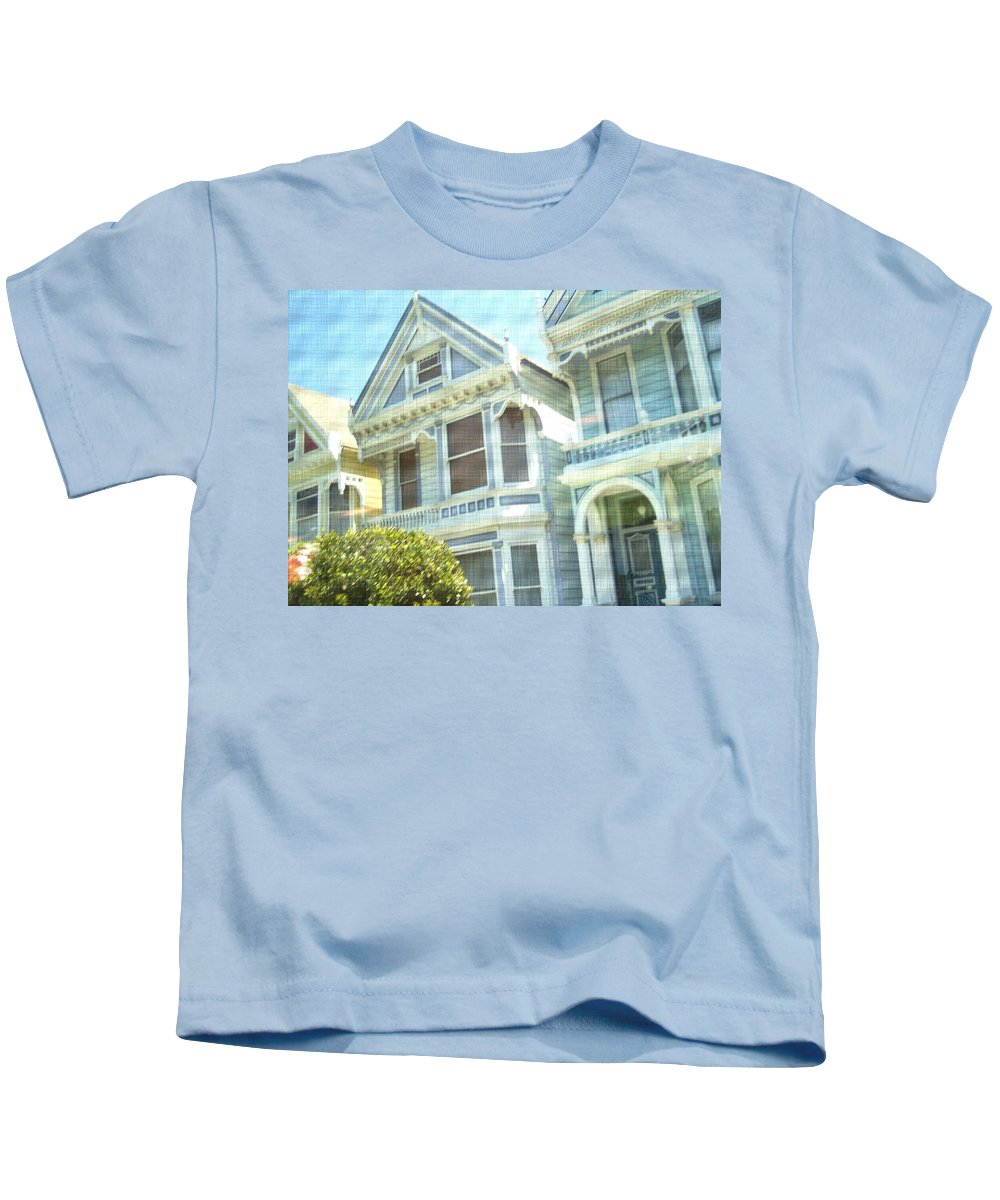 Victorians Kids T-Shirt featuring the photograph Victorian Cloth by Pharris Art