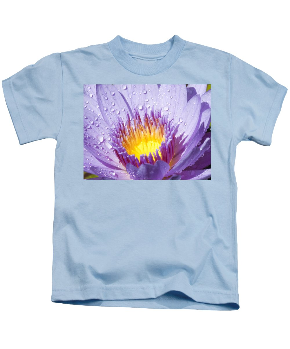 Water Lily Kids T-Shirt featuring the photograph Water Lilly by Darleen Stry