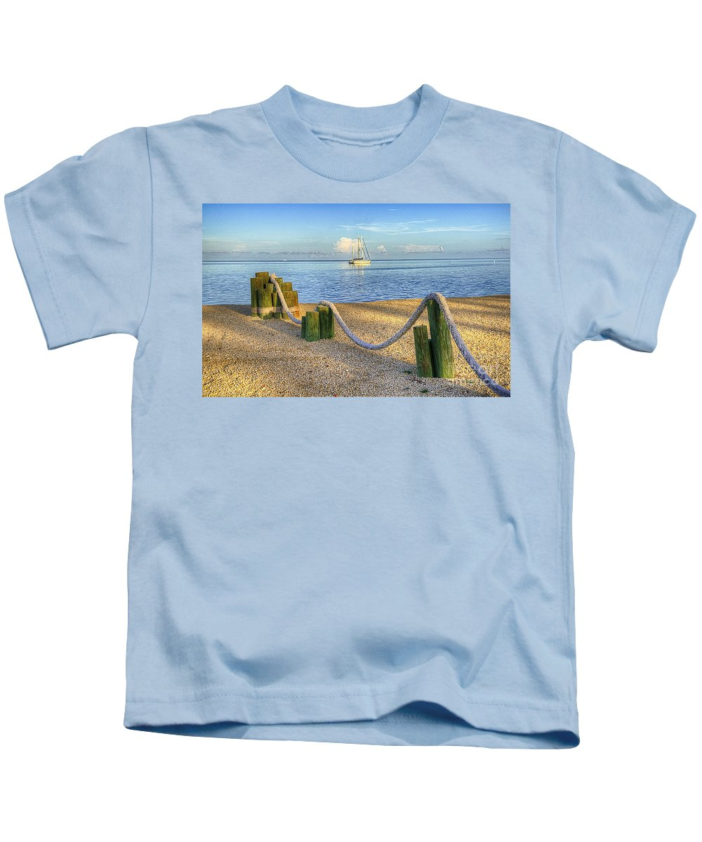 Water Kids T-Shirt featuring the photograph Whale Harbor by Bruce Bain