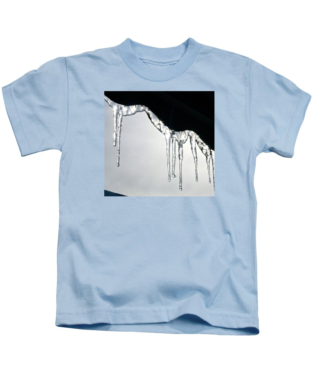 Winter Kids T-Shirt featuring the photograph Winter Lace by Yelena Tylkina