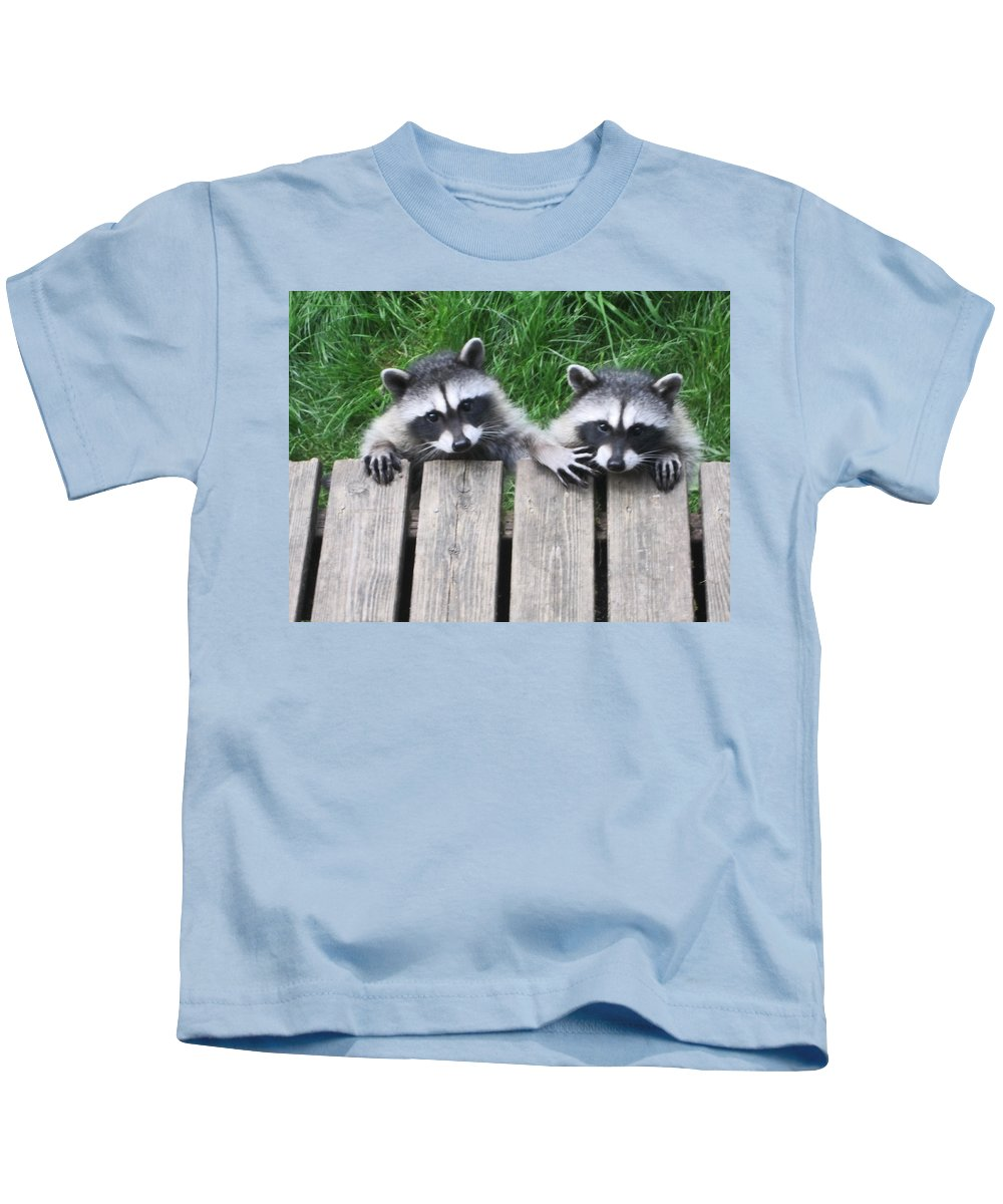 Animals Kids T-Shirt featuring the photograph Would You Please Move Over by Kym Backland