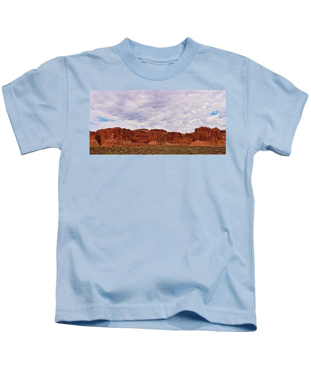 Desert Kids T-Shirt featuring the photograph Desert Walls by Karen Ulvestad