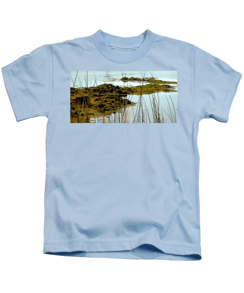 Sea Kids T-Shirt featuring the photograph Low Tide by David Resnikoff