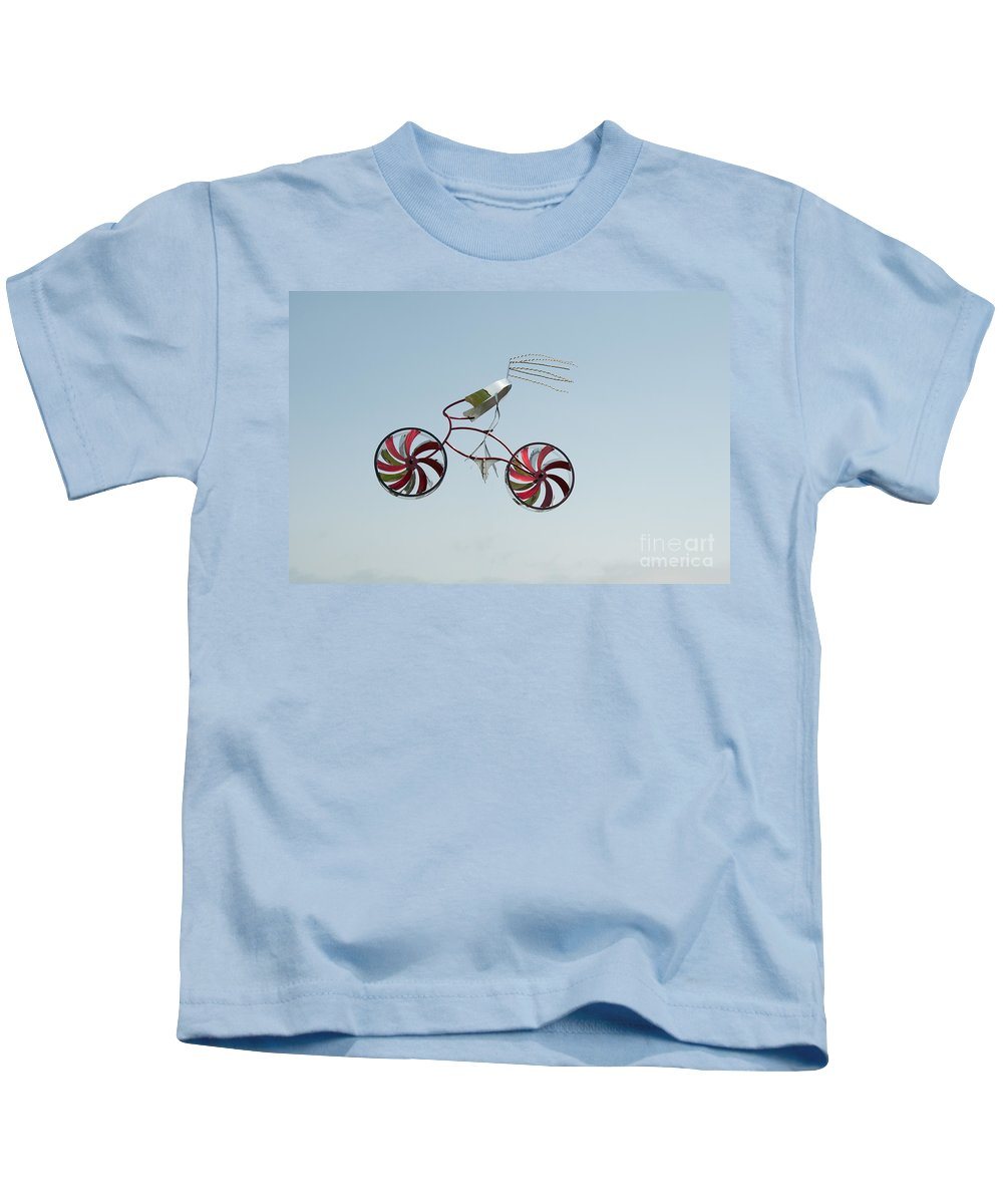 Artistic Sculpture Kids T-Shirt featuring the digital art San Diego Waterfront by Carol Ailles