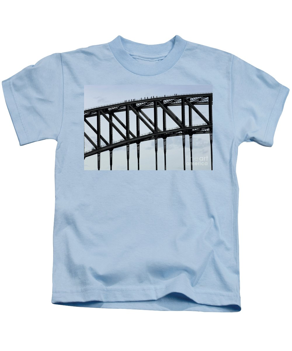 Australia Kids T-Shirt featuring the photograph Sydney Harbour Bridge by Bob Christopher
