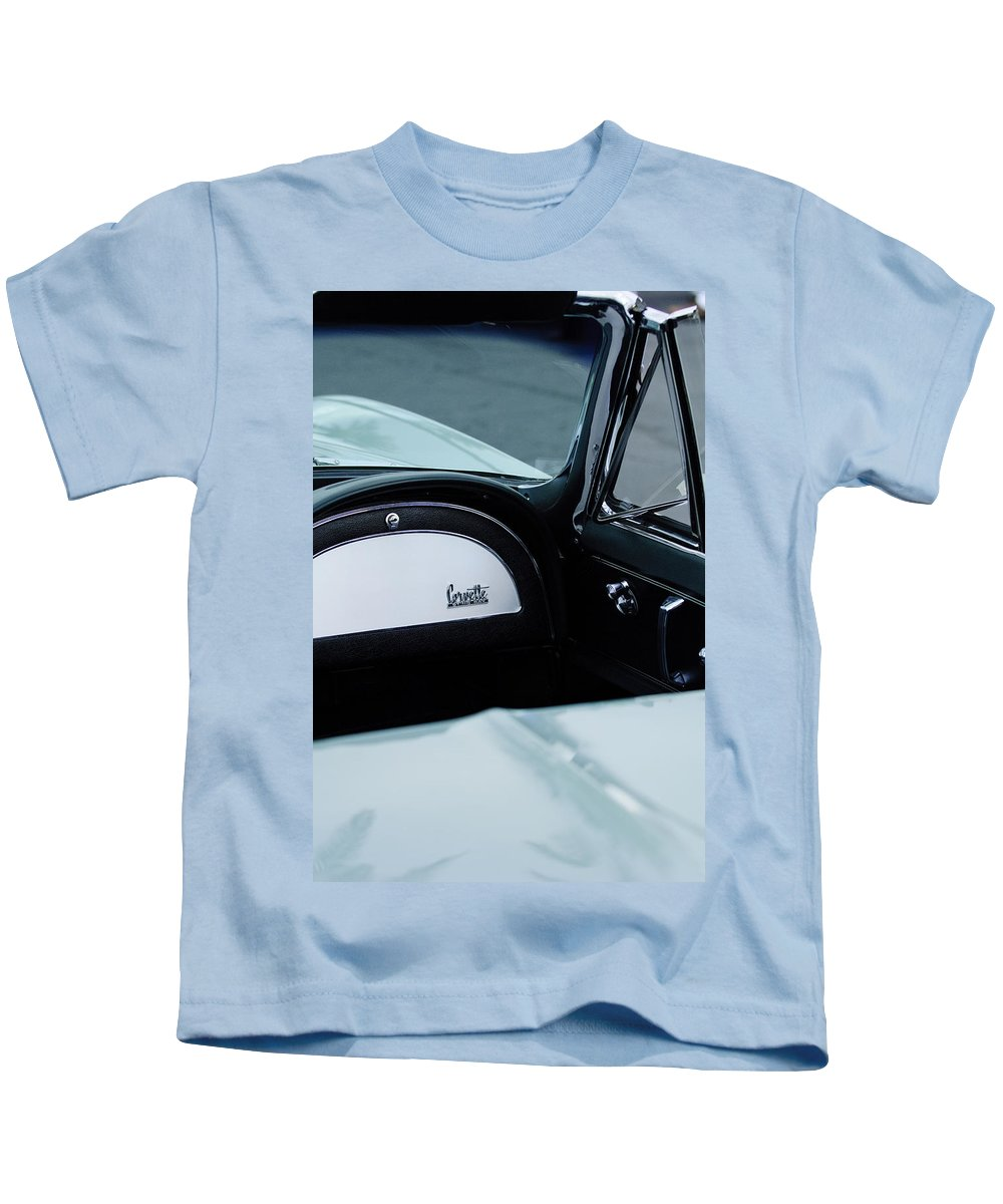 1966 Chevrolet Corvette Kids T-Shirt featuring the photograph 1966 Chevrolet Corvette 7 by Jill Reger