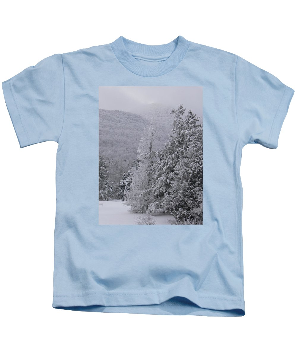 Winter Kids T-Shirt featuring the photograph Appello by Natalie LaRocque