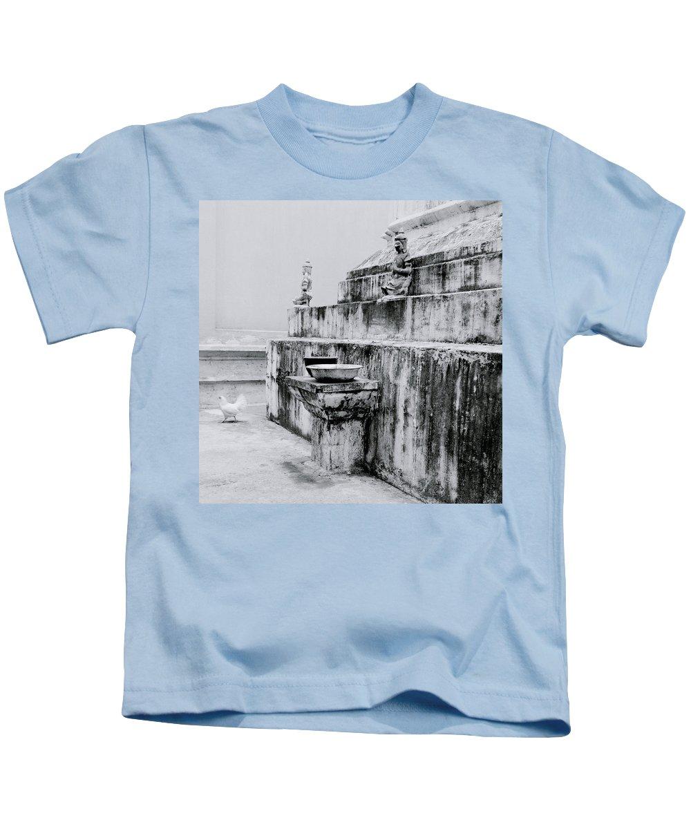 Thai Kids T-Shirt featuring the photograph Buddhist Simplicity by Shaun Higson