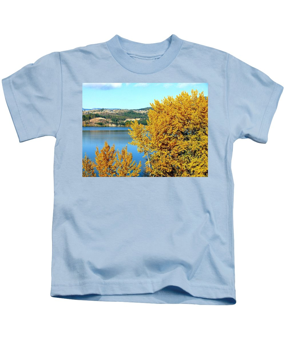 Autumn Kids T-Shirt featuring the photograph Country Color 5 by Will Borden