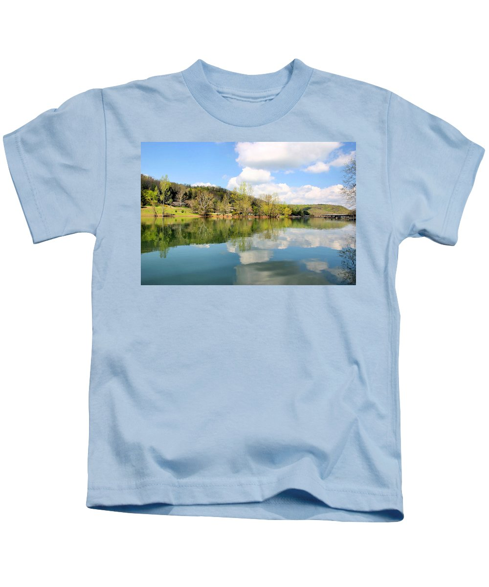 Dale Hollow Kids T-Shirt featuring the photograph Dale Hollow Tennessee by Kristin Elmquist