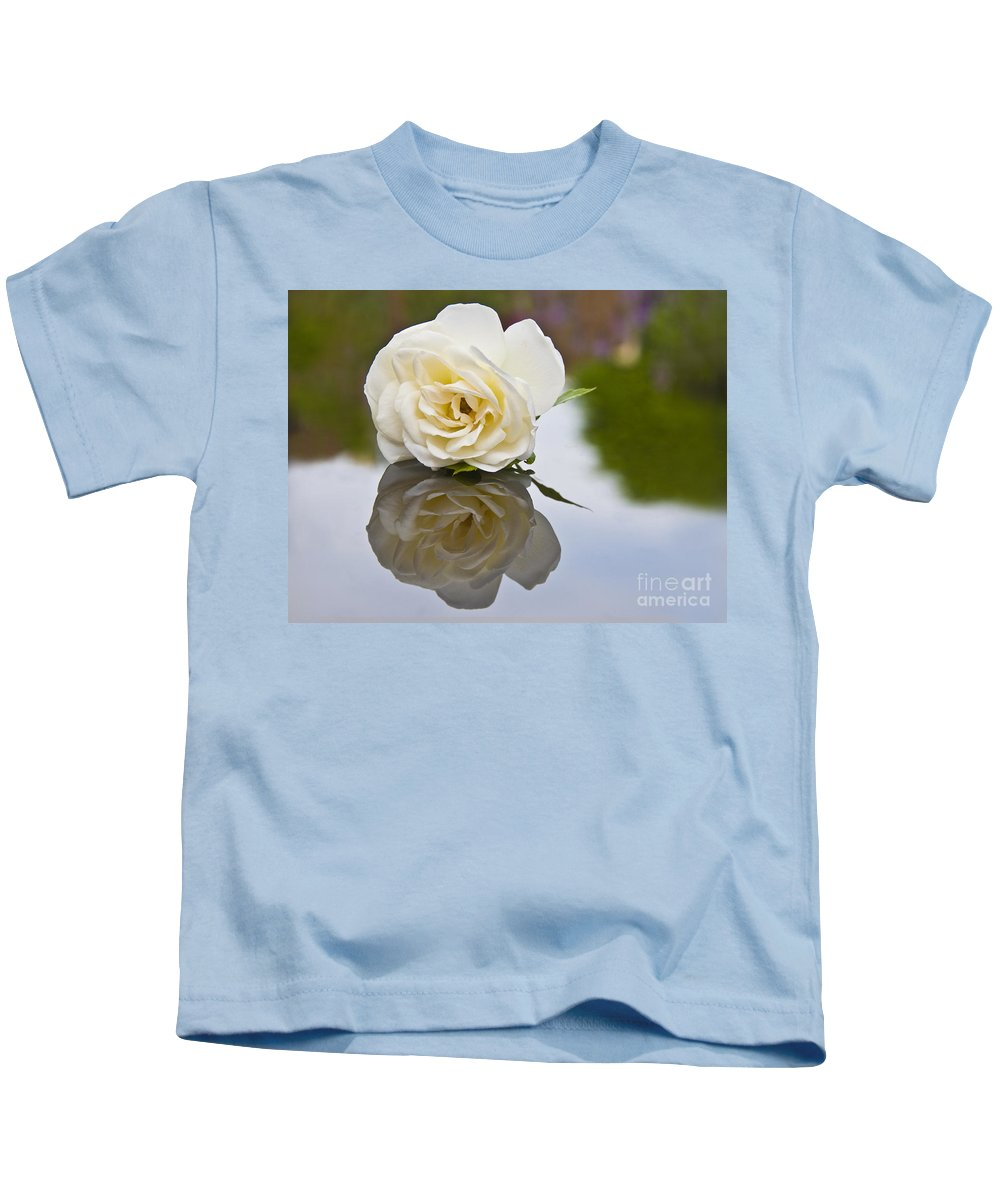 Lady Of Shalott Kids T-Shirt featuring the photograph Lady Of Shalott by Sheila Laurens