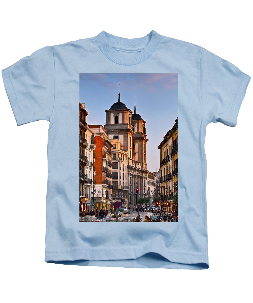 Europe Kids T-Shirt featuring the photograph Madrid by John Greim