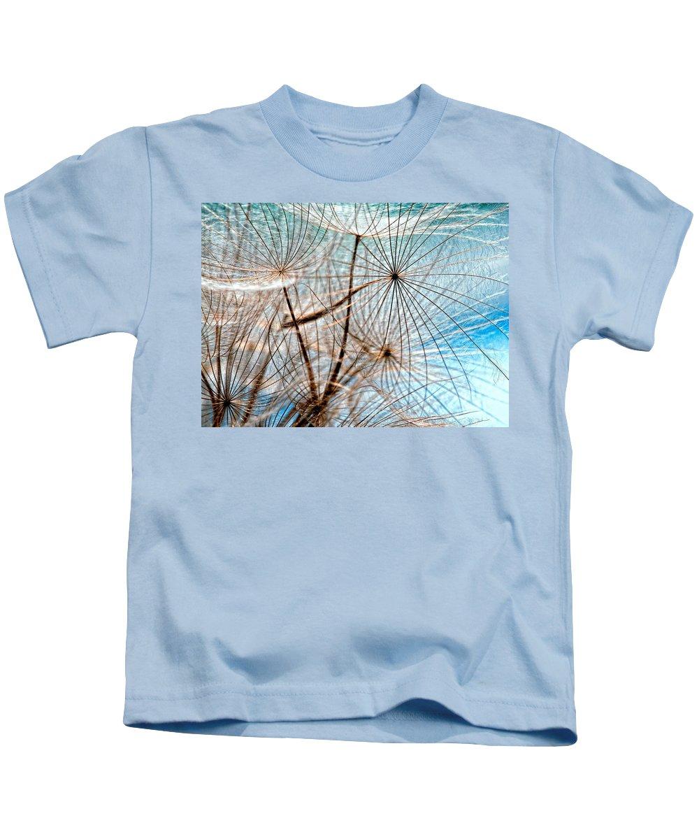 Weed Kids T-Shirt featuring the photograph Matrix by Steve Harrington
