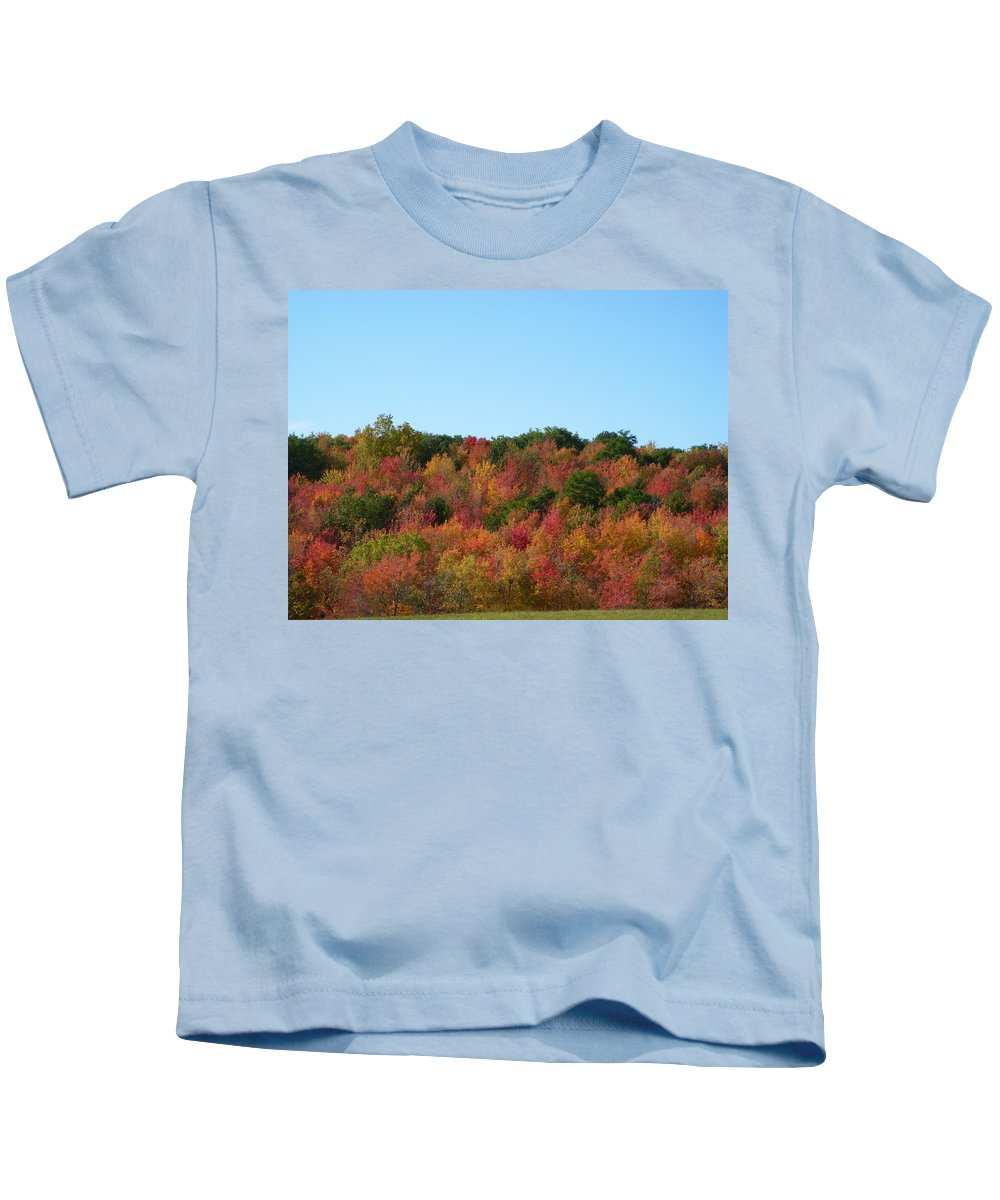 Autumn Kids T-Shirt featuring the photograph Natures Colors by Aimee L Maher ALM GALLERY
