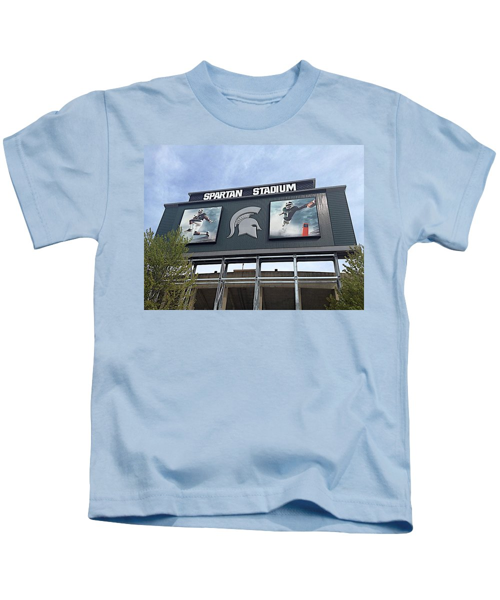 Athletics Kids T-Shirt featuring the photograph Signpost by Joseph Yarbrough