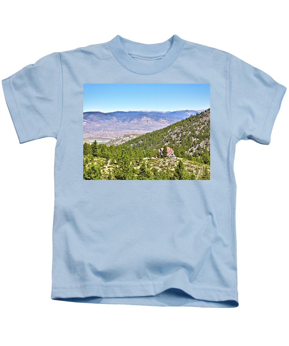 Desert Kids T-Shirt featuring the photograph Solitude With A View - Carson City Nevada by John Waclo