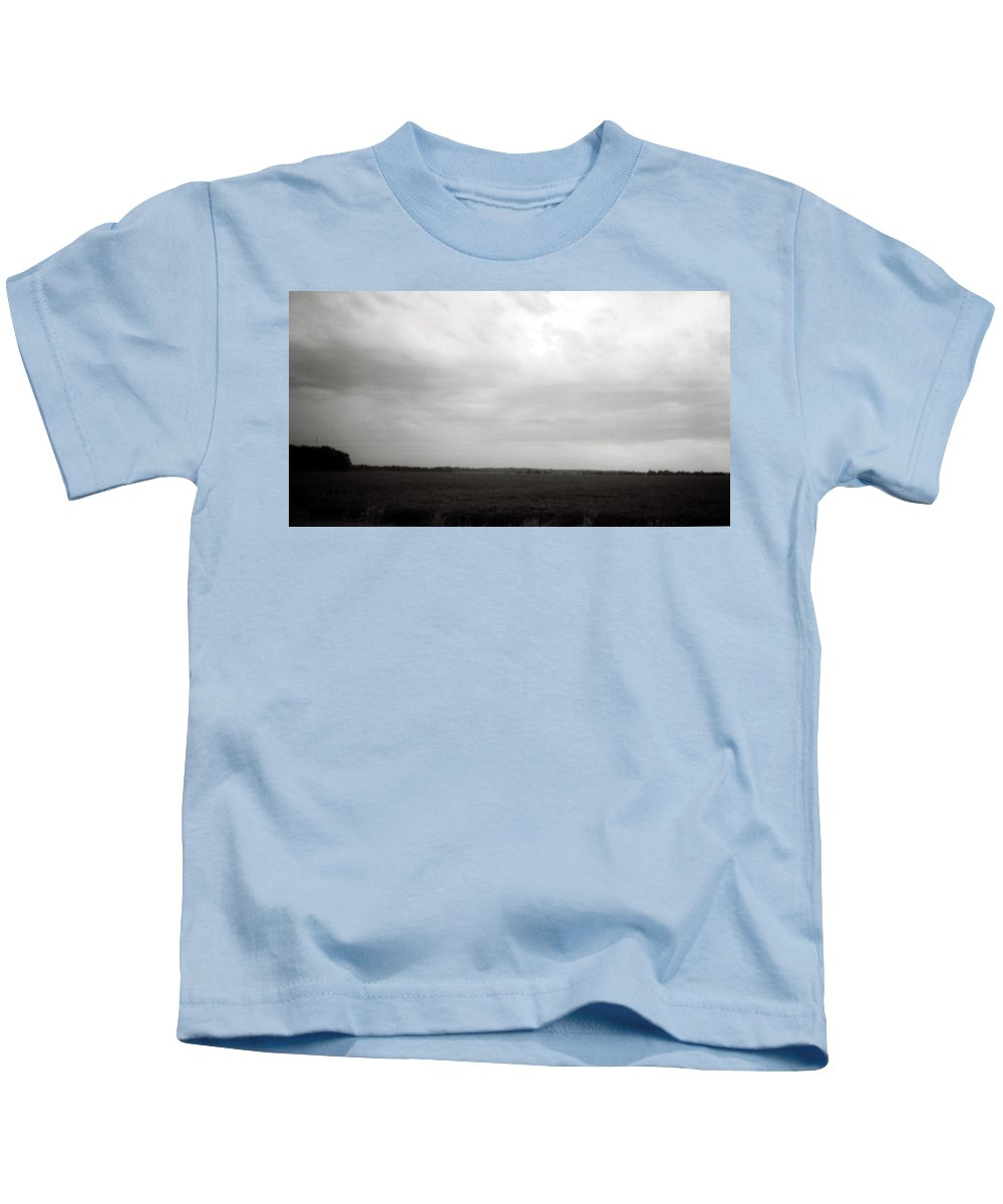 Louisiana Kids T-Shirt featuring the photograph Soybean Field- Richland Parish- Louisiana. by Doug Duffey