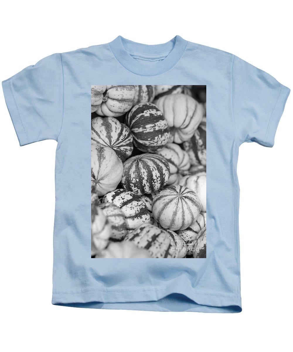 Sweet Dumpling Kids T-Shirt featuring the photograph Sweet Sweet Dumpling In Black by Brooke Roby