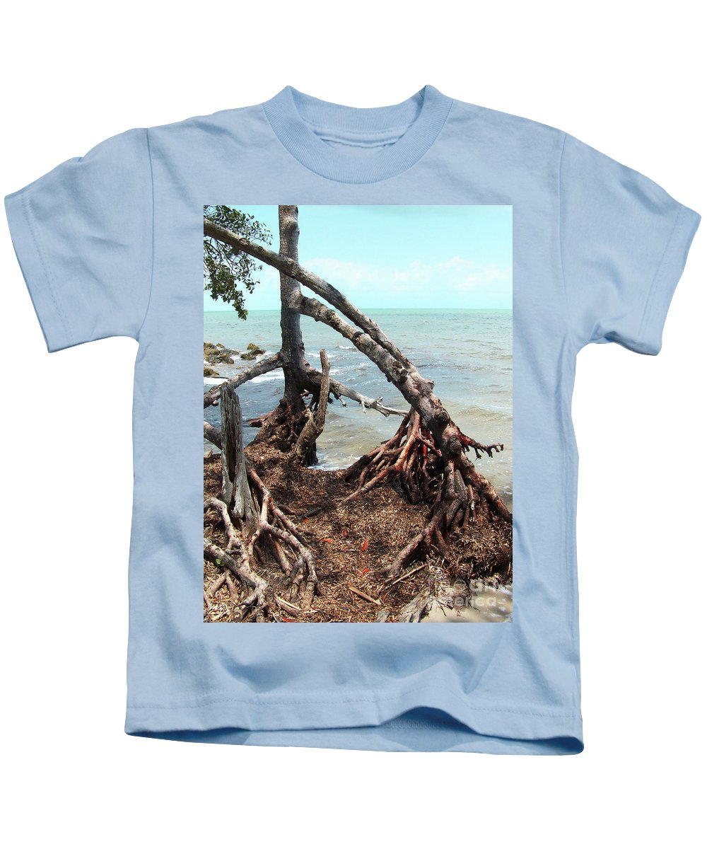 Trees Kids T-Shirt featuring the photograph Tapacula En Color by Kathy McClure