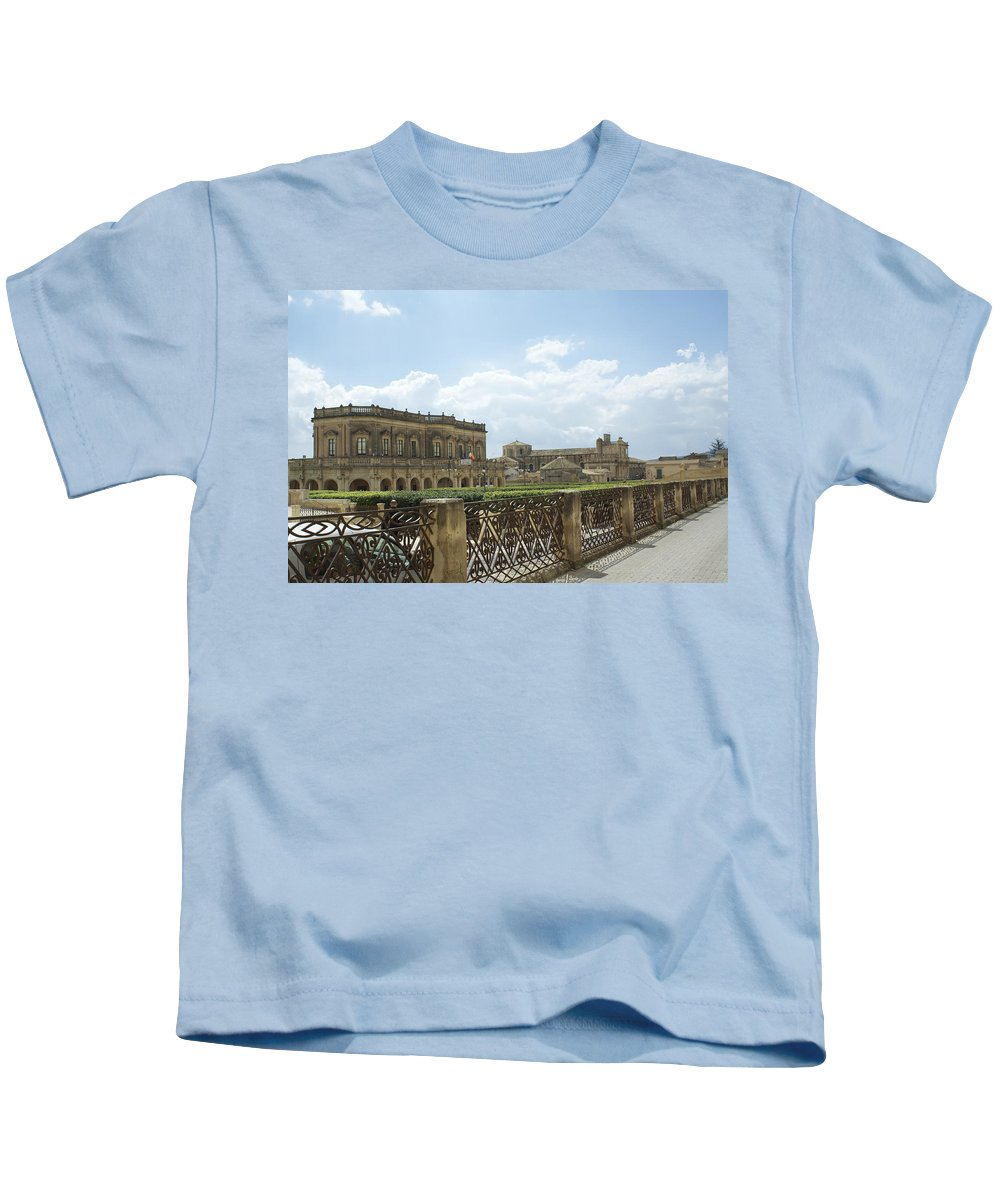 Noto Kids T-Shirt featuring the photograph The Colors Of Noto by Donato Iannuzzi