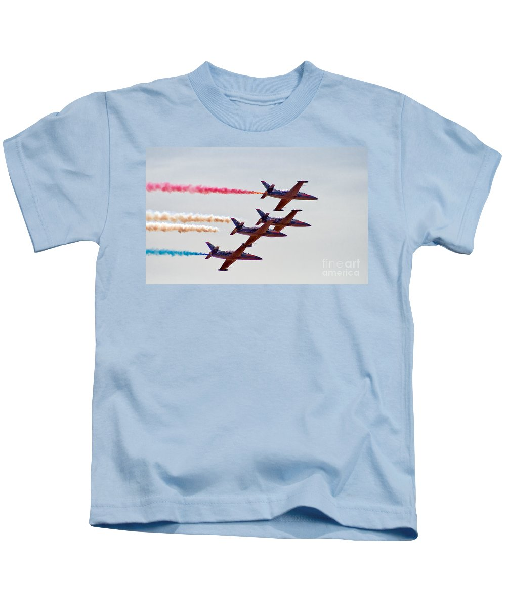 Patriots Kids T-Shirt featuring the photograph The Patriots by Robert Bales