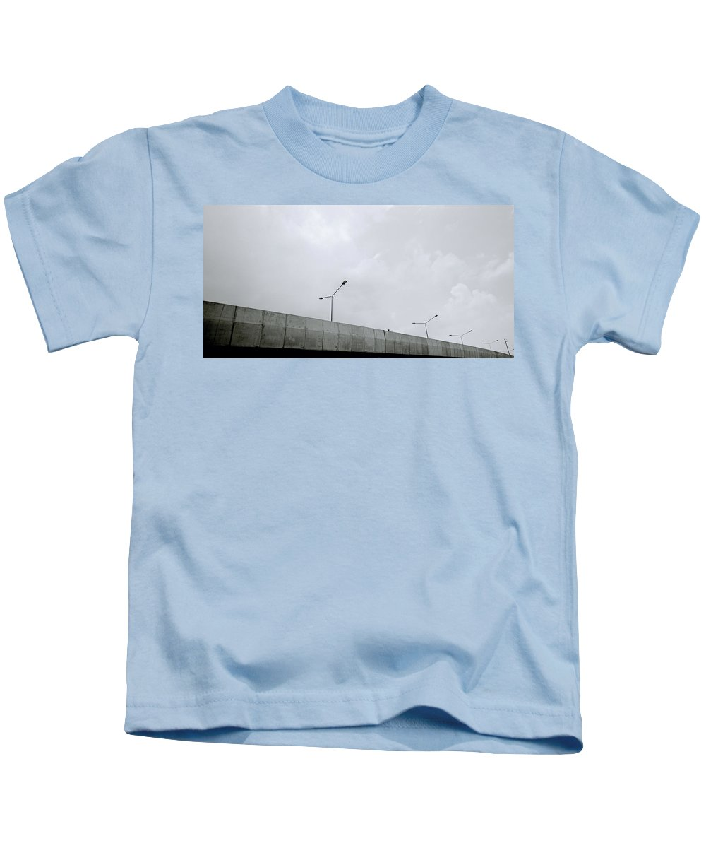 Modern Kids T-Shirt featuring the photograph Urban Modernity by Shaun Higson