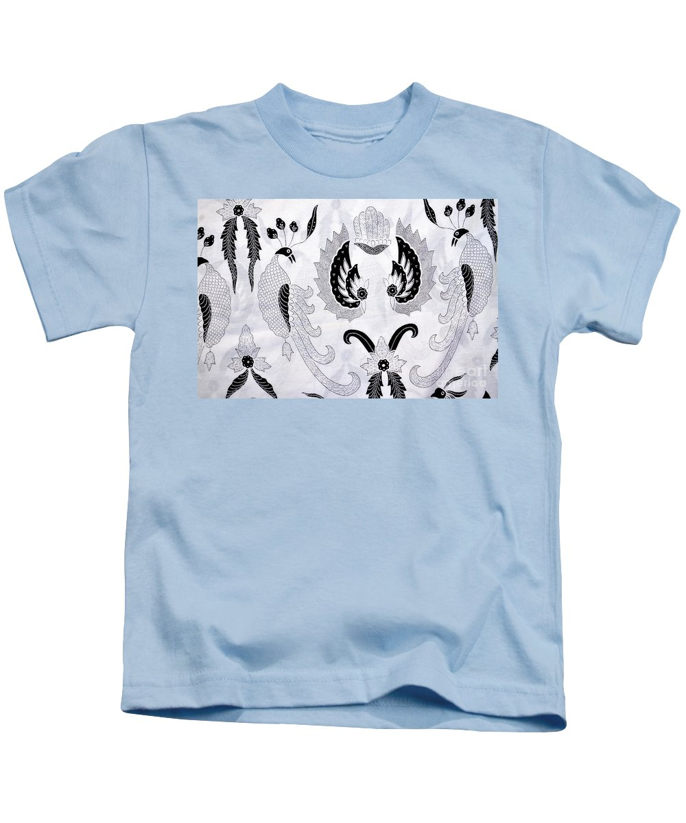 Design Kids T-Shirt featuring the photograph Batik by Antoni Halim