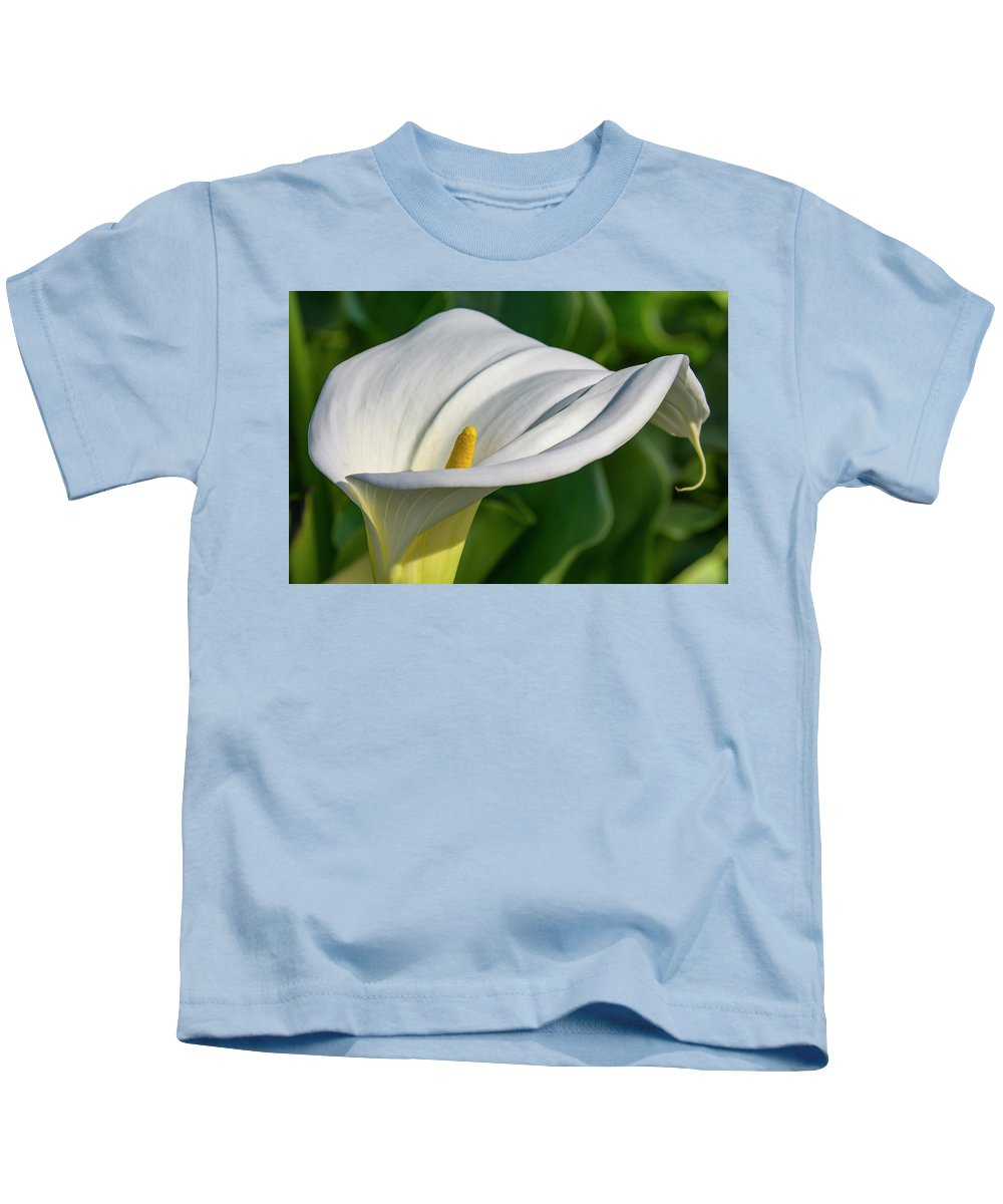 Flower Kids T-Shirt featuring the photograph Calla Lily by Bruce Frye