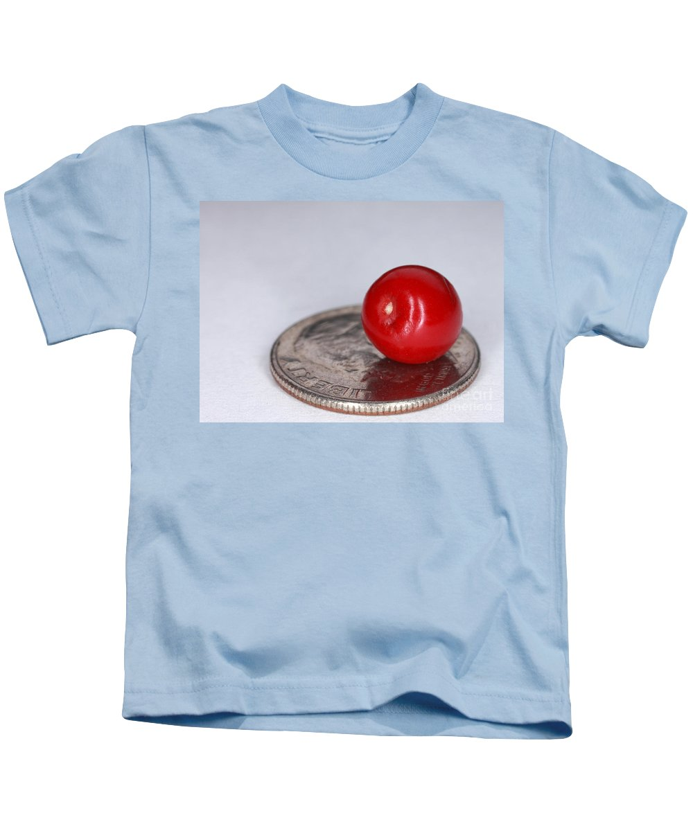 Plant Kids T-Shirt featuring the photograph Coca Plant Berry, Erythroxylum Coca by Ted Kinsman