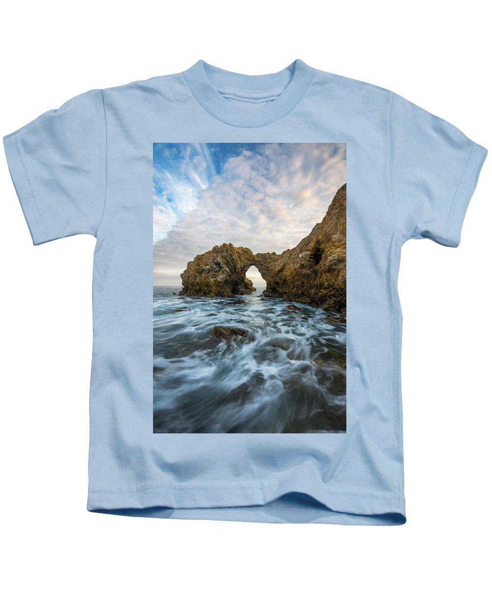 California Kids T-Shirt featuring the photograph Corona Del Mar by Dustin LeFevre