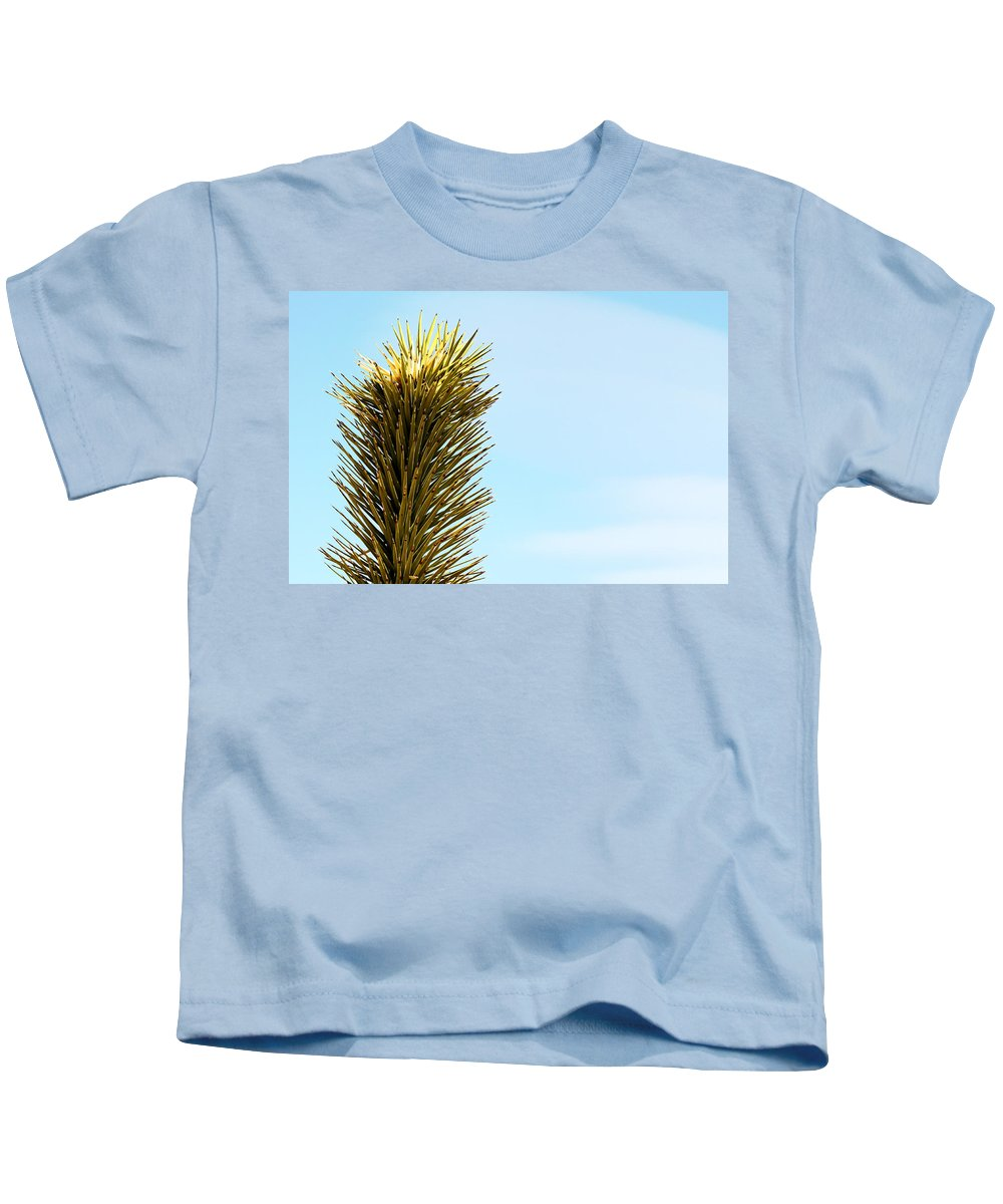 Desert Life Kids T-Shirt featuring the photograph Joshua Tree by Gravityx9 Designs