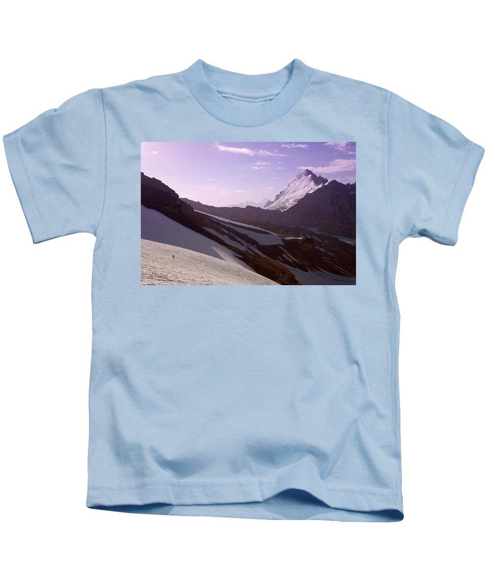 Beautiful Kids T-Shirt featuring the photograph Pamir by Konstantin Dikovsky