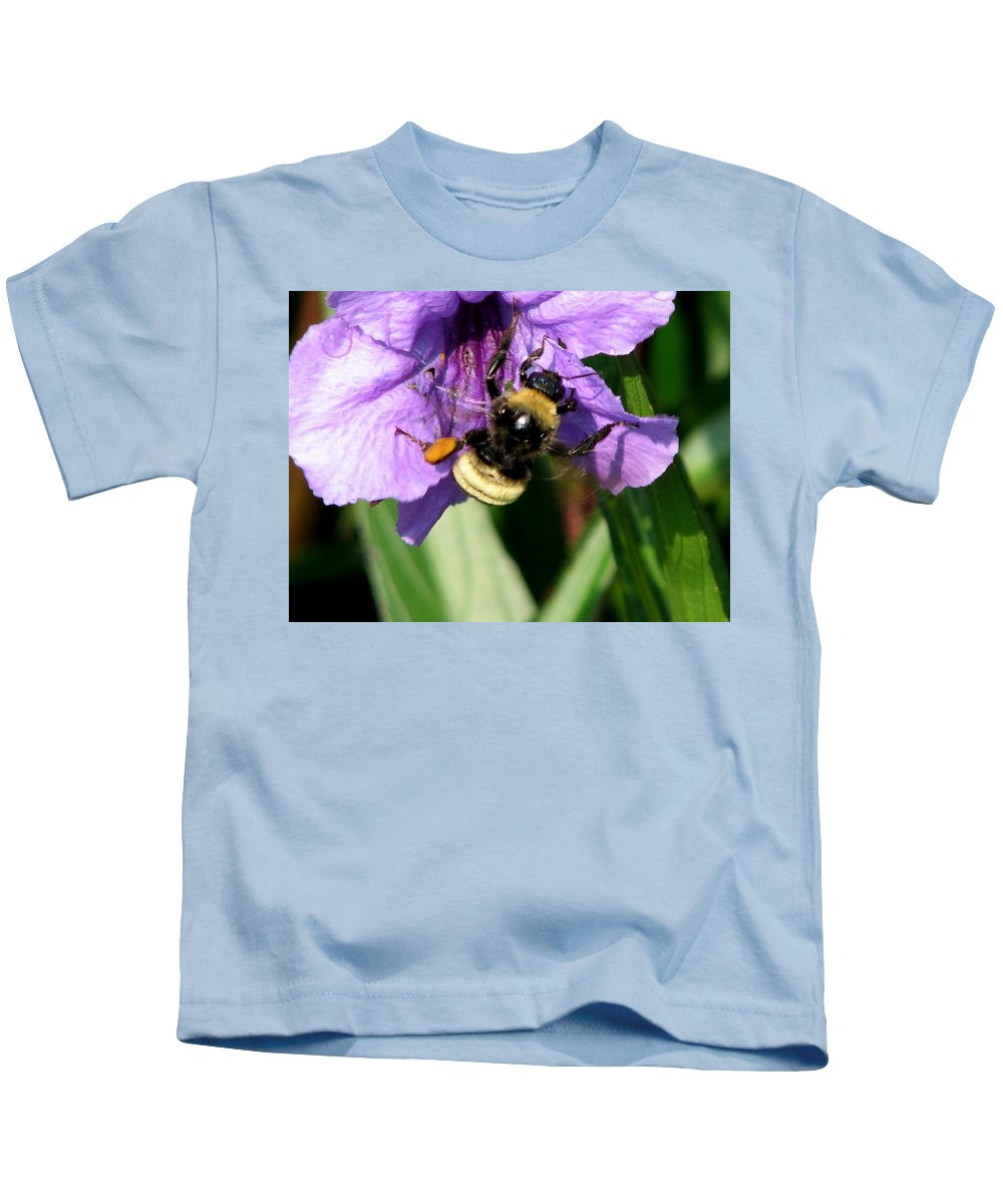 Pollination Kids T-Shirt featuring the photograph Pollination 2 by J M Farris Photography