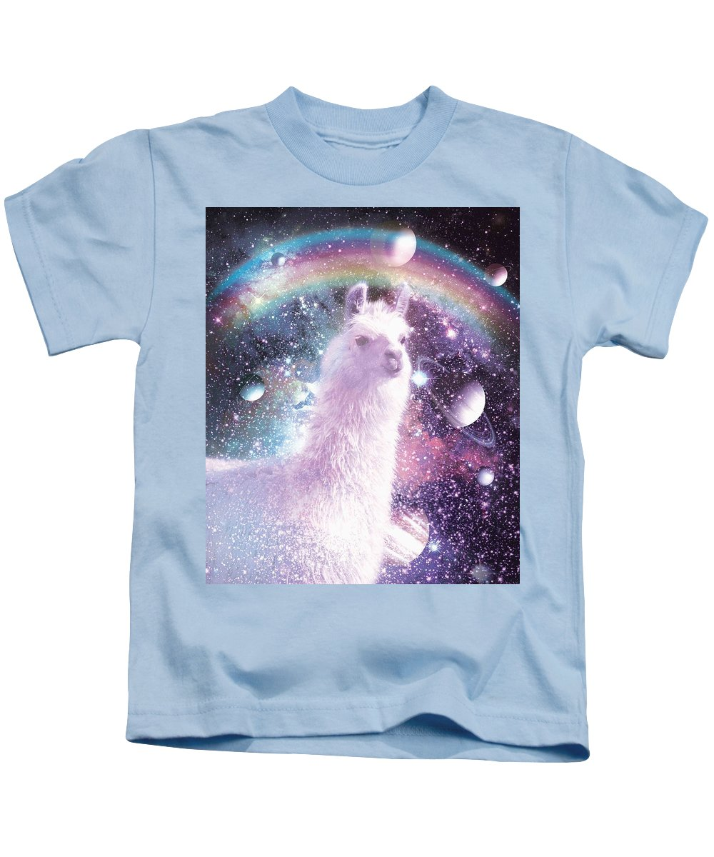 6288cee786e36 Rainbow Llama - Llama Spirit Kids T-Shirt