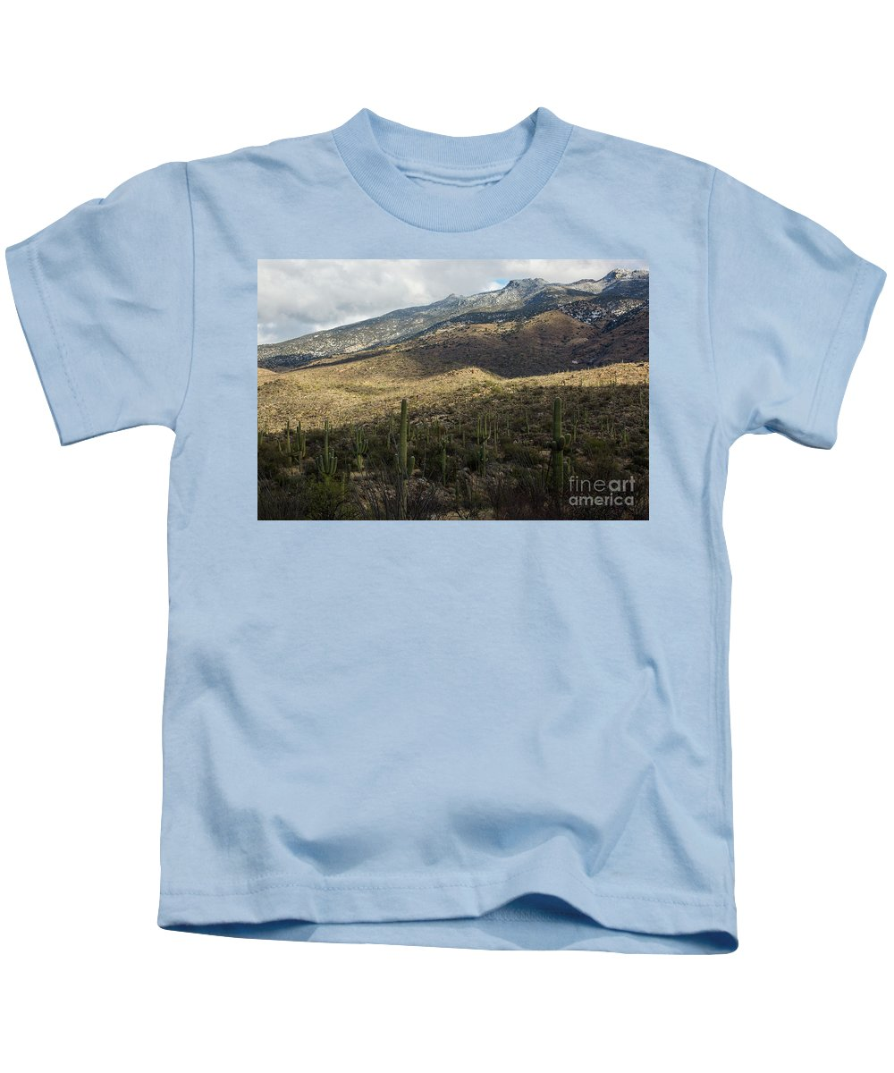 Tucson Kids T-Shirt featuring the photograph Tucson Landscape by Billy Bateman