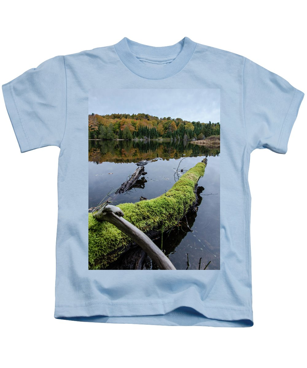 Calm Kids T-Shirt featuring the photograph Undisturbed by Lee and Michael Beek