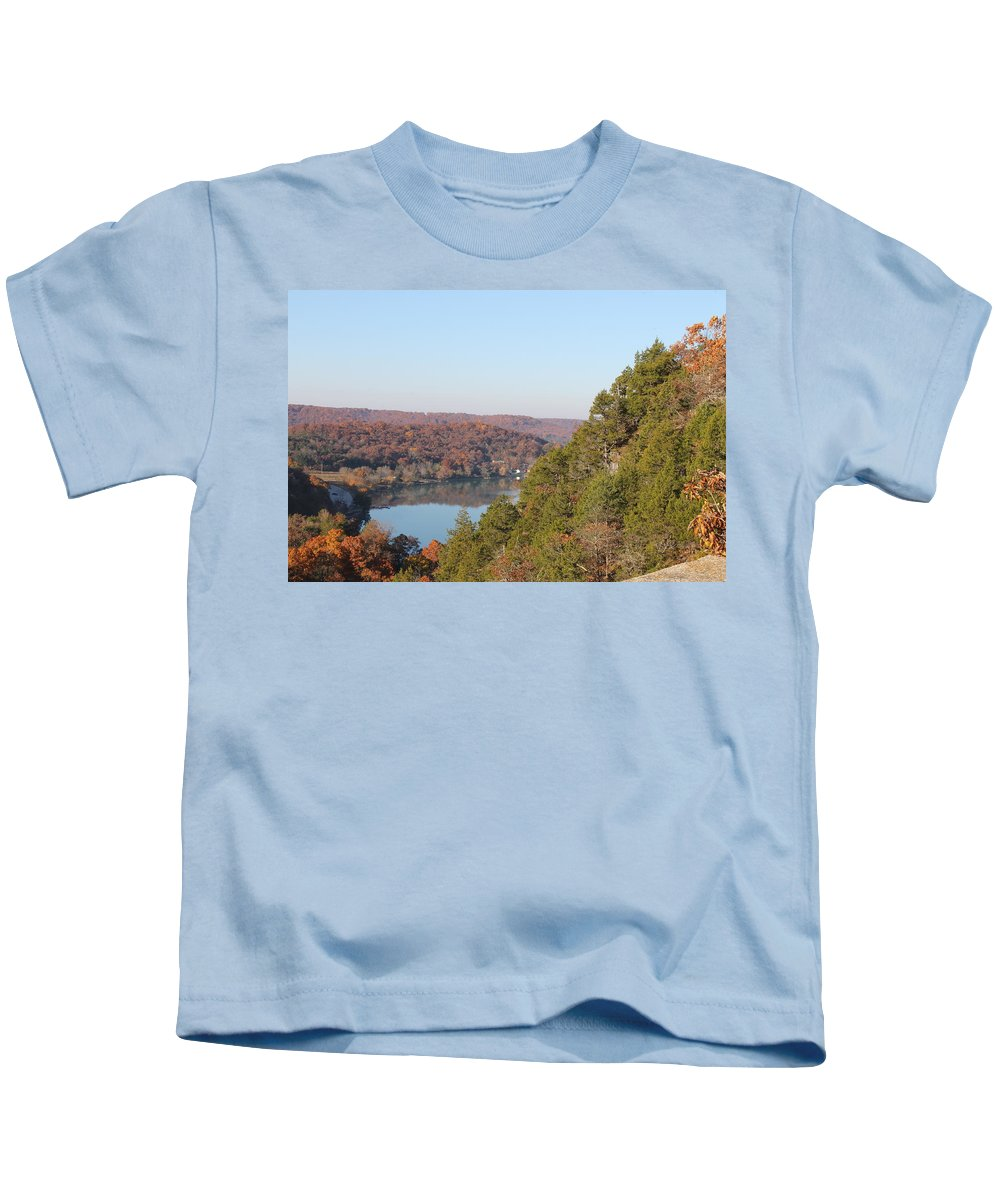 Ha Ha Tonka Kids T-Shirt featuring the photograph Ha Ha Tonka by Michael Munster