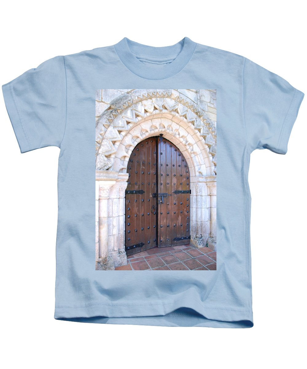 Architecture Kids T-Shirt featuring the photograph Miami Monastery by Rob Hans