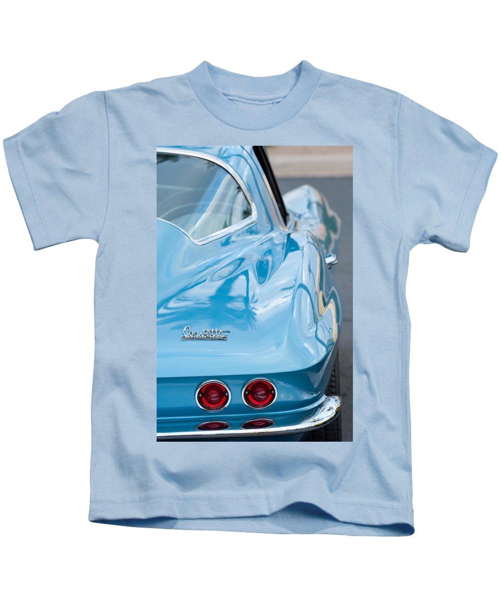 1967 Chevrolet Corvette Kids T-Shirt featuring the photograph 1967 Chevrolet Corvette 11 by Jill Reger
