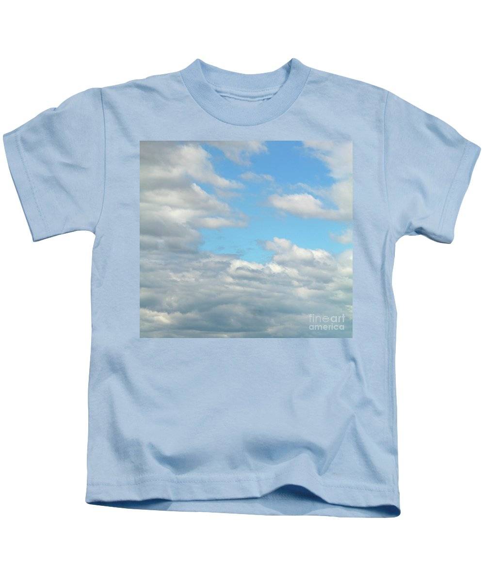 Blue Kids T-Shirt featuring the photograph Blue Sky by Kristen Pagliaro