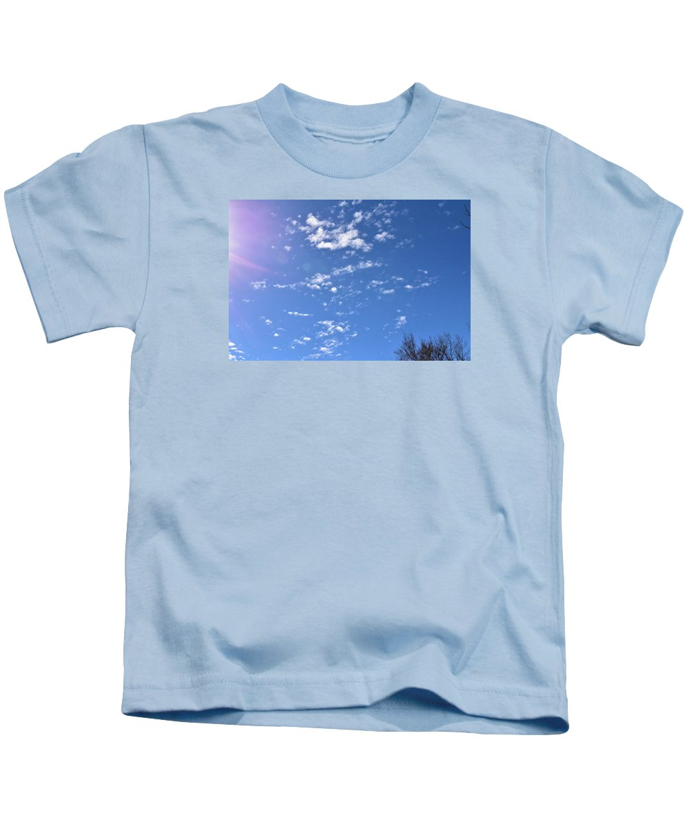 Sky Kids T-Shirt featuring the photograph Clouds by Diane Hester