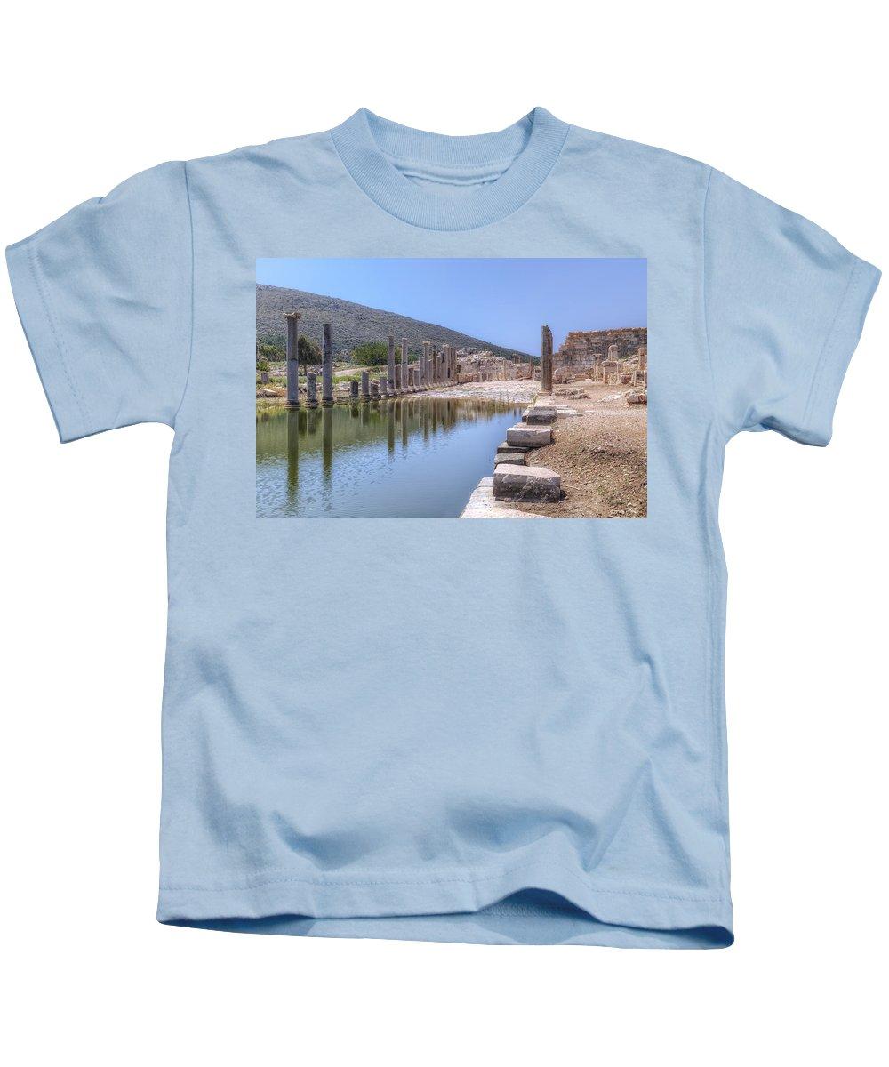 Patara Kids T-Shirt featuring the photograph Patara - Turkey by Joana Kruse