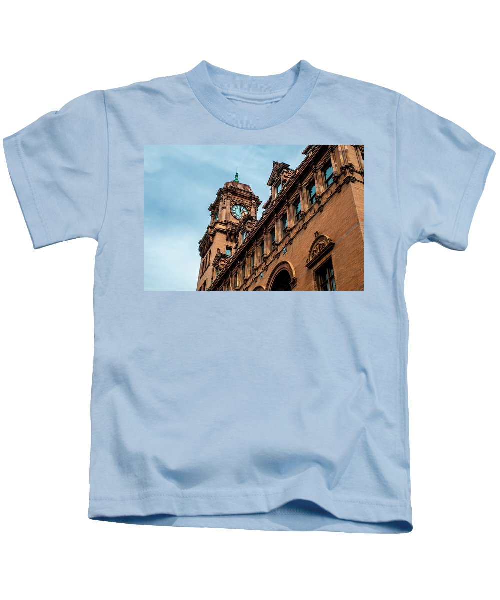 Crowded Kids T-Shirt featuring the photograph Richmond Virginia Architecture by Alex Grichenko